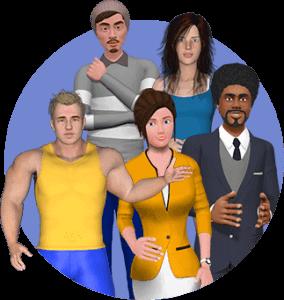 3d premium avatar images